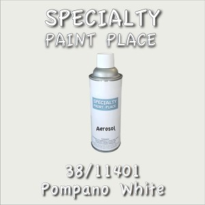 38/11401 pompano white-Tiger-touchup-paint 16oz aerosol can