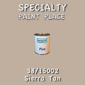38/15002 sierra tan-Tiger-touchup-paint pint