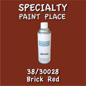38/30028 brick red-Tiger-touchup-paint 16oz aerosol can