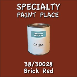 38/30028 brick red-Tiger-touchup-paint gallon