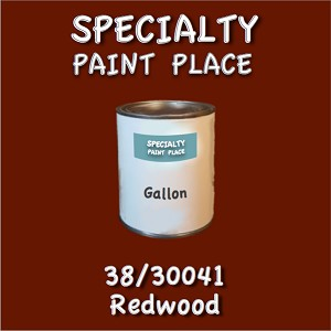 38/30041 redwood-Tiger-touchup-paint gallon