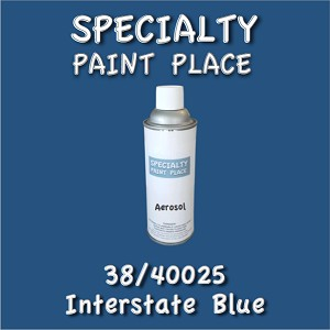 38/40025 interstate blue-Tiger-touchup-paint 16oz aerosol can