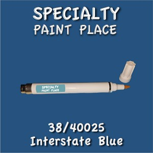 38/40025 interstate blue-Tiger-touchup-paint pen