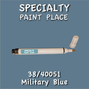 38/40051 military blue-Tiger-touchup-paint pen