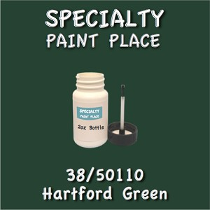38/50110 hartford green-Tiger-touchup-paint 2oz bottle with brush