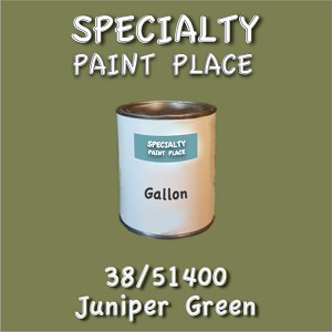 38/51400 juniper green-Tiger-touchup-paint gallon