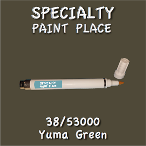 38/53000 yuma green-Tiger-touchup-paint pen
