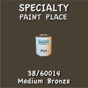 38/60014 medium bronze-Tiger-touchup-paint pint