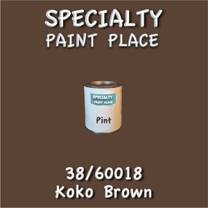38/60018 koko brown-Tiger-touchup-paint pint