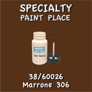 38/60026 marrone 306-Tiger-touchup-paint 2oz bottle with brush