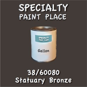 38/60080 statuary bronze-Tiger-touchup-paint gallon