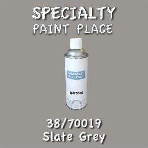 38/70019 slate grey-Tiger-touchup-paint 16oz aerosol can