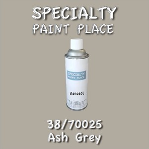 38/70025 ash grey-Tiger-touchup-paint 16oz aerosol can