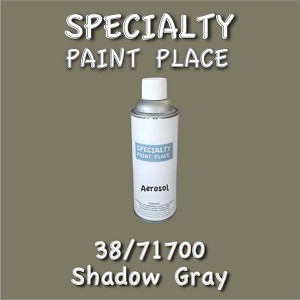 38/71700 shadow gray-Tiger-touchup-paint 16oz aerosol can