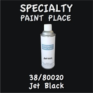 38/80020 jet black-Tiger-touchup-paint 16oz aerosol can
