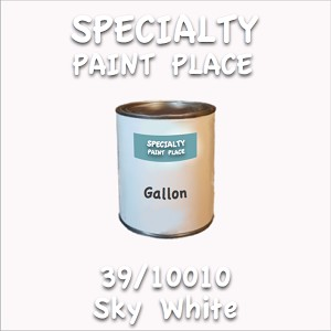 39/10010 sky white gallon