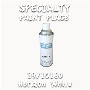 39/10160 horizon white 16oz aerosol can