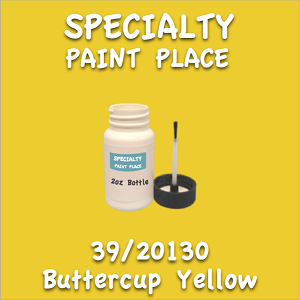 39/20130 buttercup yellow 2oz bottle with brush