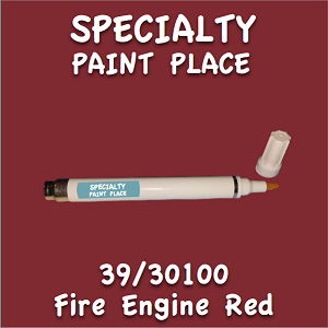 39/30100 fire engine red pen