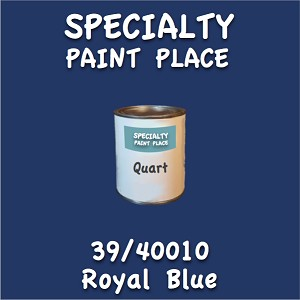 39/40010 royal blue quart