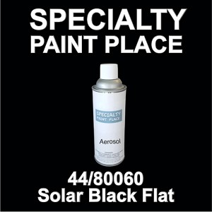 44/80060 Solar-black-flat tiger touch-up paint 16oz aerosol can