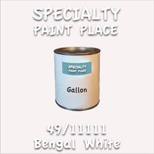 49/11111 bengal white gallon