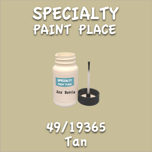 49/19365 tan 2oz bottle with brush