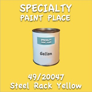49/20047 steel rack yellow gallon