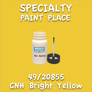 49/20855 cnh bright yellow 2oz bottle with brush