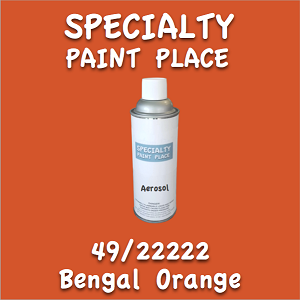 49/22222 bengal orange 16oz aerosol can