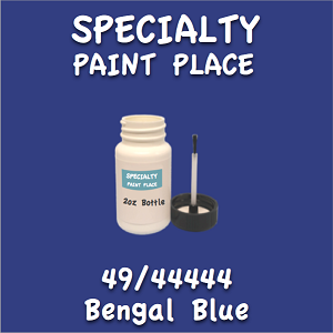 49/44444 bengal blue 2oz bottle with brush