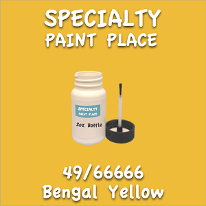 49/66666 bengal yellow 2oz bottle with brush