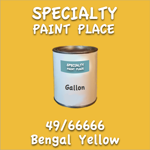49/66666 bengal yellow gallon