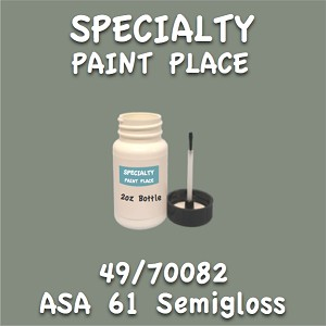 49/70082 asa 61 semigloss 2oz bottle with brush
