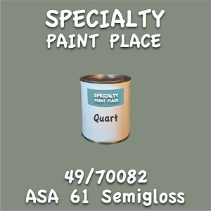 49/70082 asa 61 semigloss quart