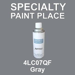 4LC07QF Gray - AkzoNobel 16oz aerosol spray can