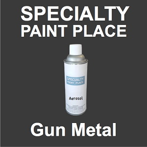 59/95726 gun metal tiger touch-up paint 16oz aerosol can