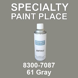 8300-7087 61 Gray - TCI 16oz aerosol spray can