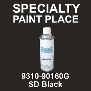 9310-90160G SD Black - TCI 16oz aerosol spray can