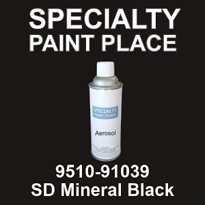 9510-91039 SD Mineral Black - TCI 16oz aerosol spray can