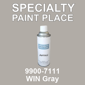 9900-7111 WIN Gray - TCI 16oz aerosol spray can