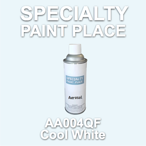 AA004QF cool white AkzoNobel touch-up paint 16oz aerosol can