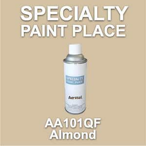 AA101QF almond AkzoNobel touch-up paint 16oz aerosol can