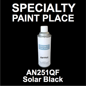 AN251QF solar black AkzoNobel touch-up paint 16oz aerosol can