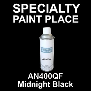 AN400QF Midnight Black AkzoNobel touch-up paint 16oz aerosol can