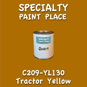 C209-YL130 tractor yellow quart