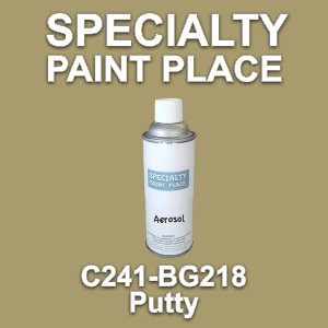 C241-BG218 putty Cardinal touch-up paint 16oz aerosol can