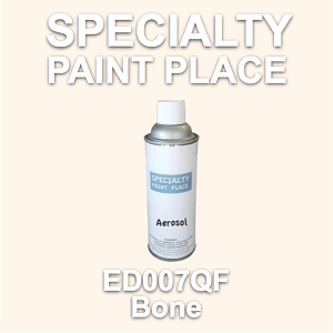 ED007QF Bone AkzoNobel touch-up paint 16oz aerosol can