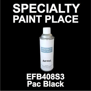 EFB408S3 PAC Black Axalta touch-up paint 16oz aerosol can