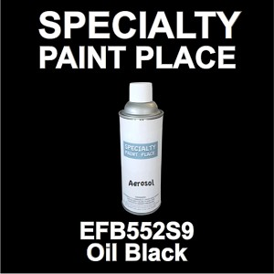 EFB552S9 Oil Black Axalta touch-up paint 16oz aerosol can